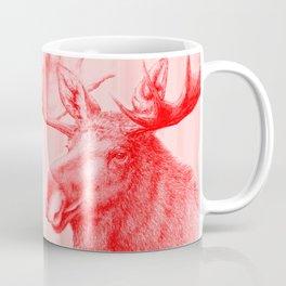 Moose red Coffee Mug