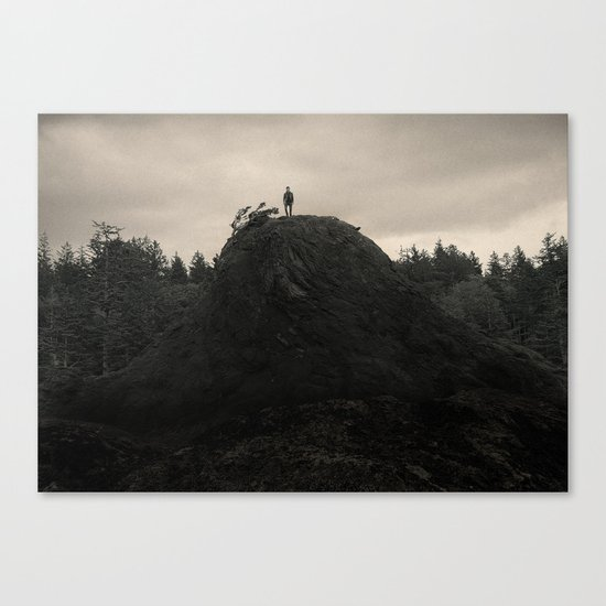 Up In the Woods, Down in My Mind Canvas Print