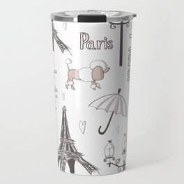 Paris Girl Travel Mug
