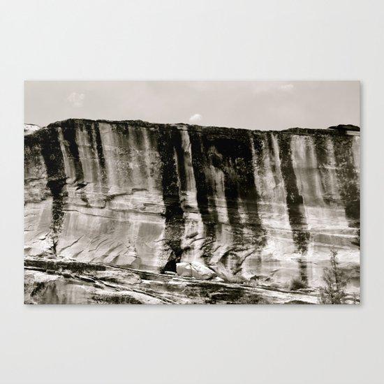 Desert Wall Canvas Print