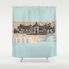 North Carolina Shower Curtain