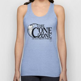 Cone Zone Ice Cream Parlor Unisex Tank Top