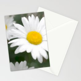 Daisies flowers in painting style 6 Stationery Cards