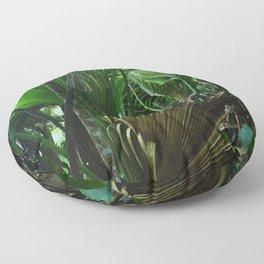 Garden of Eden - Exotic Seychelles Islands, Indian Ocean Floor Pillow