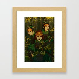 Kyoshi Warriors Framed Art Print