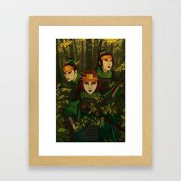Kyoshi Warriors Framed Art Print