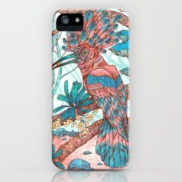 River Hoopoe iPhone Case