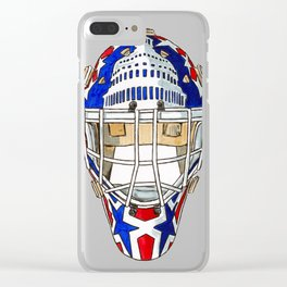 Beaupre - Mask 1 Clear iPhone Case