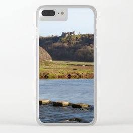 Pennard Castle Gower Clear iPhone Case