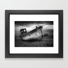 The Trawler Framed Art Print