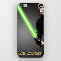 "luke hemmings iPhone & iPod Skins featuring ""Luke"" by KL Design Solutions"