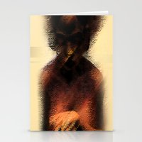 afro Stationery Cards featuring AFRO by Marian - Claudiu Bortan