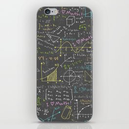 Math Lessons iPhone Skin