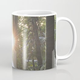 Sunset in the cloud forest  - near Tradewinds Trail - El Yunque rainforest PR Coffee Mug