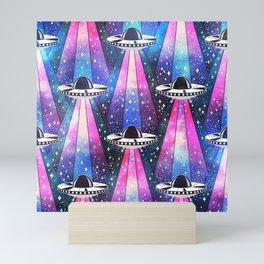 Cosmic UFO Mini Art Print