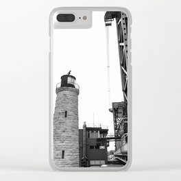 Bridge and House of Light Clear iPhone Case