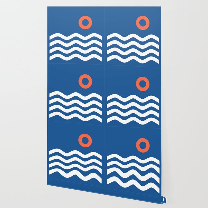 Nautical 03 Seascape Wallpaper
