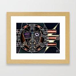 Metal Mask Framed Art Print