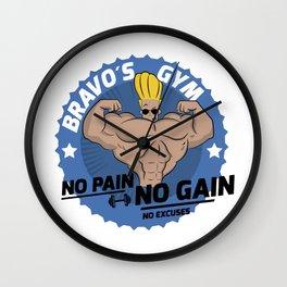 Johnny Bravo Gym Wall Clock