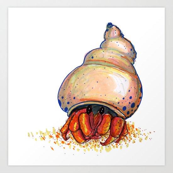 Hermit's Hermit Art Print