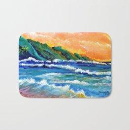 Romantic Kauai Sunset Bath Mat