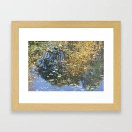 Claudet Monet visited Fiskars Framed Art Print