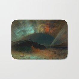 Aurora Borealis by Frederic Edwin Church Bath Mat