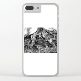 SNAKE ROOTS Clear iPhone Case