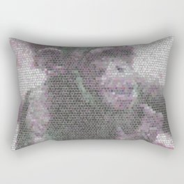 Mosaic Animal - young Chimp Rectangular Pillow