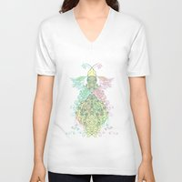 alchemy V-neck T-shirts featuring alchemy-delight by In Arsénio