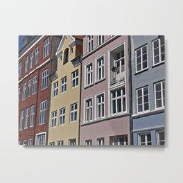 Nyhavn, Copenhagen in Denmark Metal Print