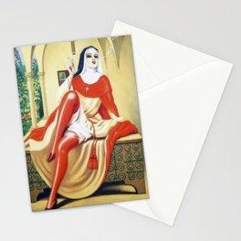 Smoking Nun Stationery Cards