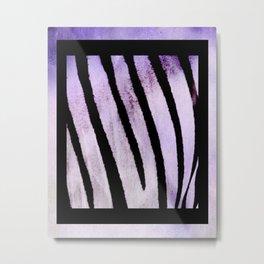Velvet Stripes Metal Print