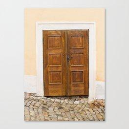 Door Prague Canvas Print