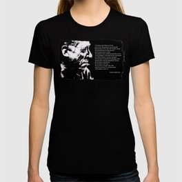 Charles BUKOWSKI - faith quote T-shirt
