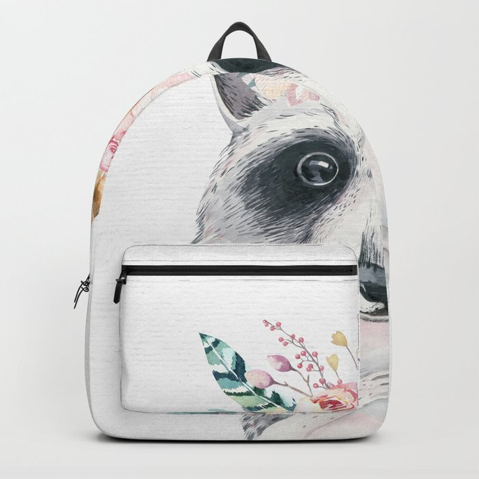 Forest Raccoon by Nature Magick Backpack