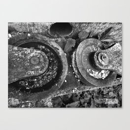 Rusty Turn! Canvas Print