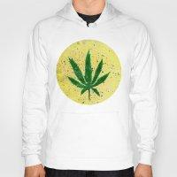 marijuana Hoodies featuring MARIJUANA by Sha Abdullah