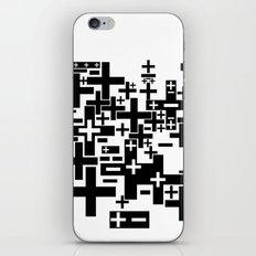 PLUS/MINUS iPhone Skin