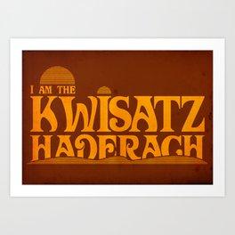 Kwisatz Haderach Art Print