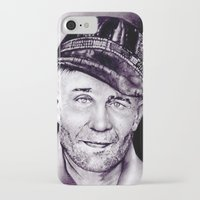 ed sheeran iPhone & iPod Cases featuring Ed Gein by Buffy Ino Kua