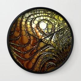Twirling Swirling Wall Clock