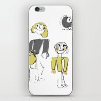 shopping iPhone & iPod Skins featuring shopping by Josephine Walz