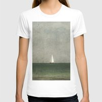 sailing T-shirts featuring Sailing by Honey Malek