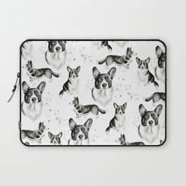 Corgi Collection Cardigan Welsh Corgi Print 1 Laptop Sleeve