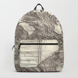 """Henri de Toulouse-Lautrec """"Madame le Margouin"""" Backpack"""