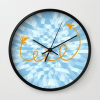 arrow Wall Clocks featuring Arrow by Mr and Mrs Quirynen