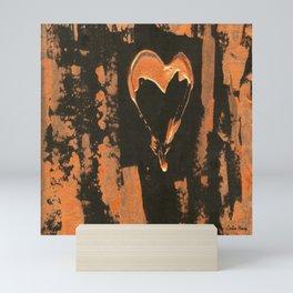 Liquid Copper Gothic Heart | Corbin Henry Mini Art Print