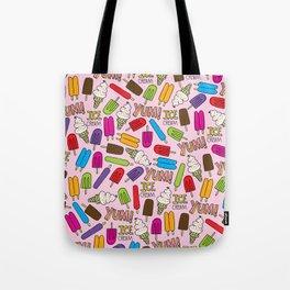 Ice Cream Doodles Tote Bag