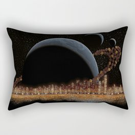 Coffee in Space 1 Rectangular Pillow